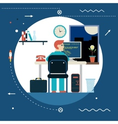 Programming and web development concept symbol vector