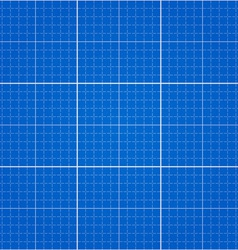 seamless blueprint background vector image vector image