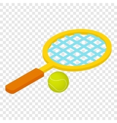 Tennis game isometric 3d icon vector