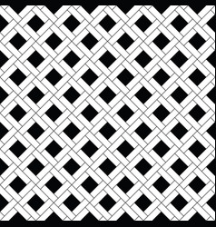 Squares tessellation  repeated white checks vector