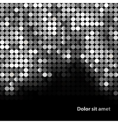 Shiny background with sequins vector image