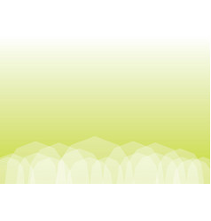 abstract light green polygonal background vector image vector image