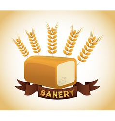 bakery label vector image