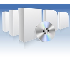 dvd box vector image