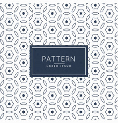 Modern abstract line pattern background vector