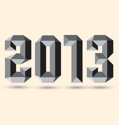 New 2013 year vector image
