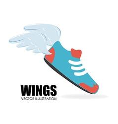 Shoe design vector