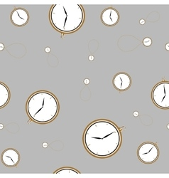 Watch from gold vector image