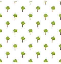Thick tree pattern vector