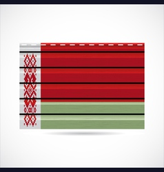 Belarus siding produce company icon vector image