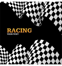 Racing Background vector image