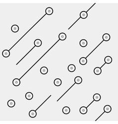 Black and white geometric minimal pattern vector