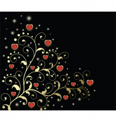 classy valentines vector image vector image