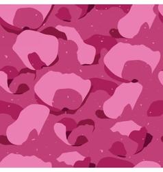 Random petals seamless pattern vector image