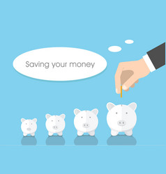 saving your money vector image