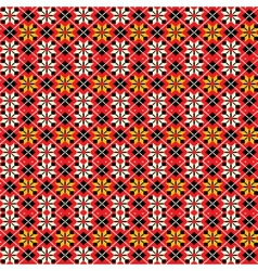 Ukrainian traditional seamless pattern vector
