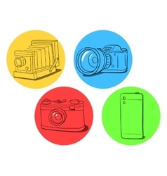 Camera evolution vector