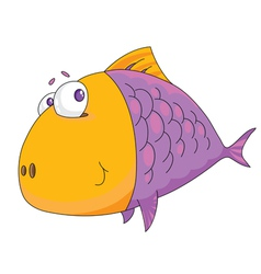 Fish big vector