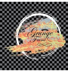 Abstract background Grunge brush vector image