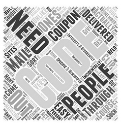 Best buy coupon codes word cloud concept vector