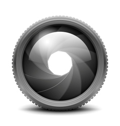 Camera Shutter Aperture vector image vector image