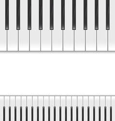 Keyboard piano2 vector