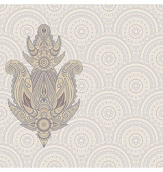 paisley design element vector image vector image