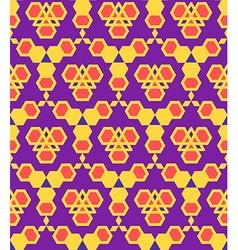 Purple violet red orange abstract geometric vector