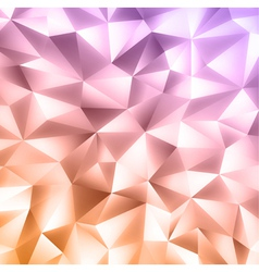 Crystal colorful background vector
