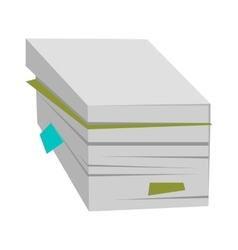 Stack of documents vector