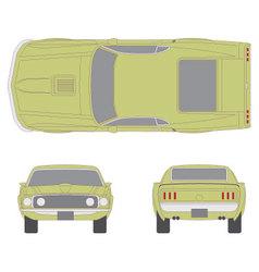 Mustang car vector