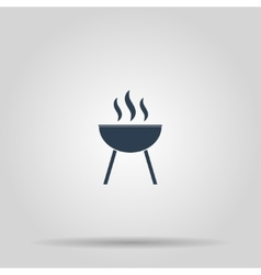 Barbecue Icon concept for vector image vector image