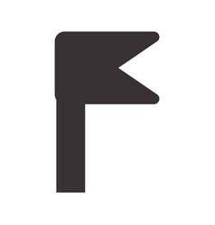 Black notice emblem symbol icon vector