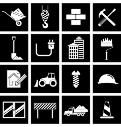 construction icon vector image vector image