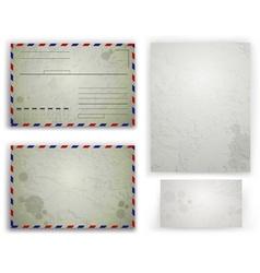 Envelope Design Set vector image vector image