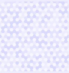 hexagon pattern seamless geometric background vector image