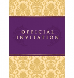 Invitation background vector