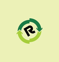 rotate arrow sign vector image