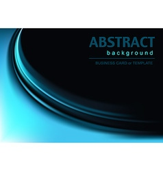 Background with Blue Effect vector image vector image