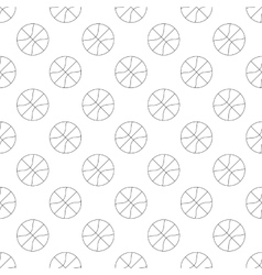 Basketball pattern seamless vector