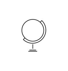 Globus icon vector