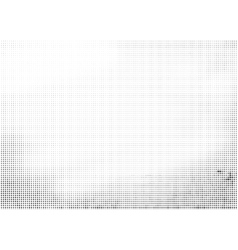 Grunge halftone ink background vector image