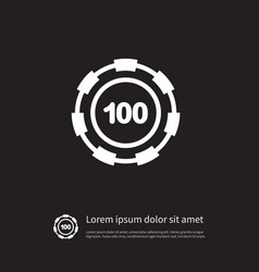 isolated disk icon stack element can be vector image vector image