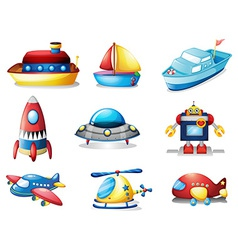 Toys vector image vector image