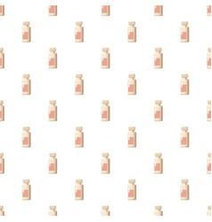Medicine bottle pattern vector