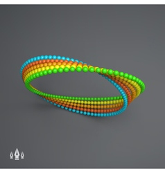 Mobius strip variation infinity sign moebius loop vector