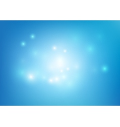 Blue abstract background lighting element vector