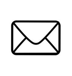 envelope paper blank vector image vector image
