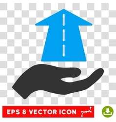 Future care hand eps icon vector