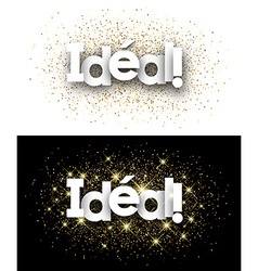 Perfect paper banner vector